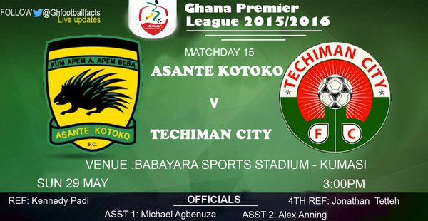 Re-live the Ghana Premier League LIVE play-by-play: Asante Kotoko 4-2 Techiman City FC