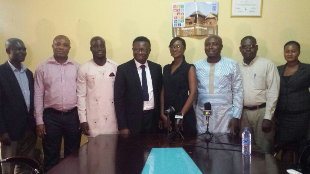 Chairman of National Peace Council Prof. Emmanuel Asante Mensah delighted with Vodafone Peace Cup initiative