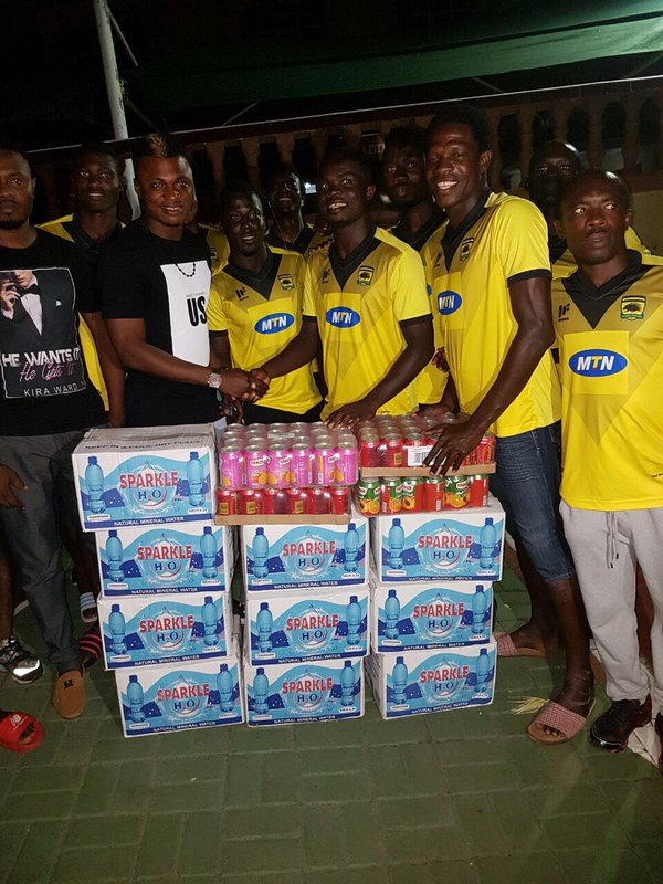 Influential Rashid Sumaila donates to Asante Kotoko ahead of Techiman City clash