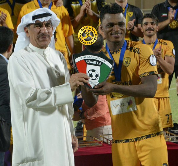 Rashid Sumaila captains Al Qadsia team 'B' to win championship