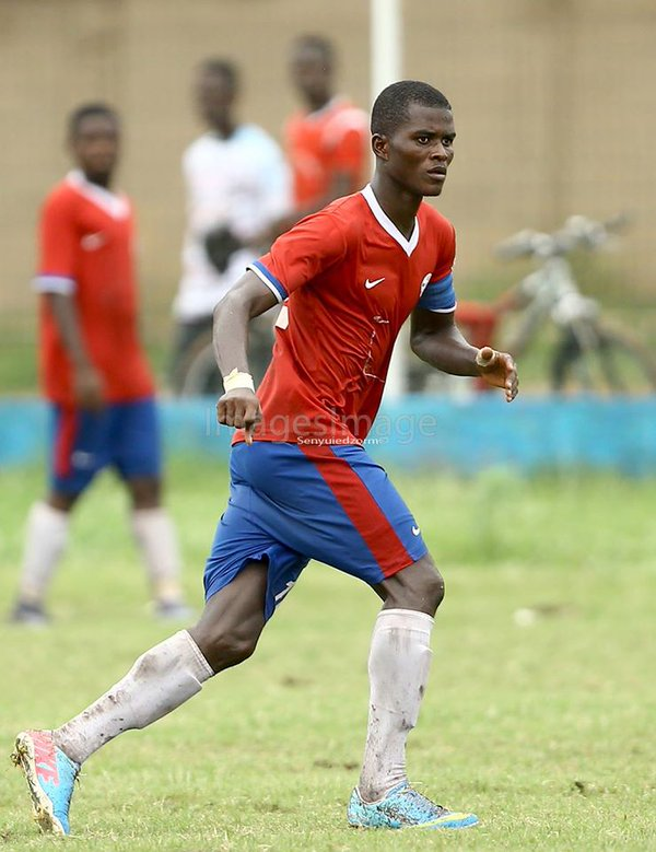 Liberty skipper Samuel Sarfo enjoys being a Police man and a footballer