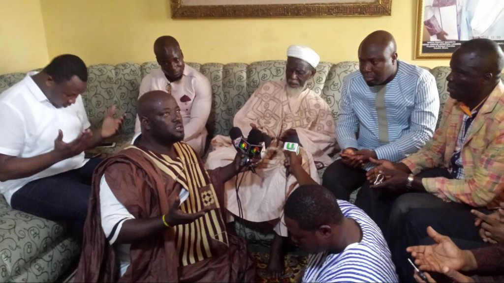 National Chief Imam Sheikh Nuhu Sharubutu pledges support for Vodafone Peace Cup; calls for peace during 2016 elections