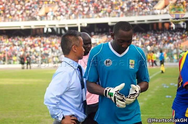 Dwarfs coach backs troubled Hearts goalie Soulama Abdoulaye to come back stronger