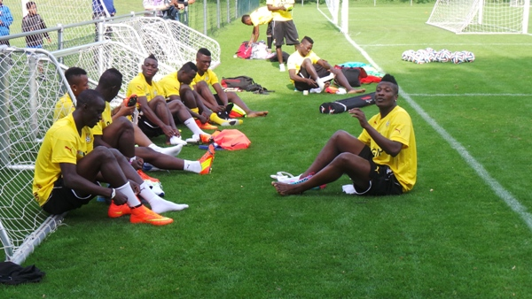 Black Stars to begin non residential camping in Accra today