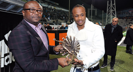 Andre Ayew draws inspiration from father Abedi Ayew Pele.