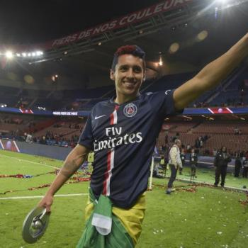 BARCELONA set to join the race for PSG centre-back Marquinhos