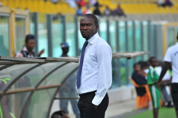 Dreams FC Coach C.K Akunnor blames referee for Hearts of Oak defeat