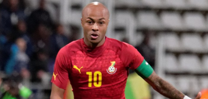 VIDEO: Deputy Black Stars captain Andre Ayew was anxiously watching the 2018 World Cup Draw