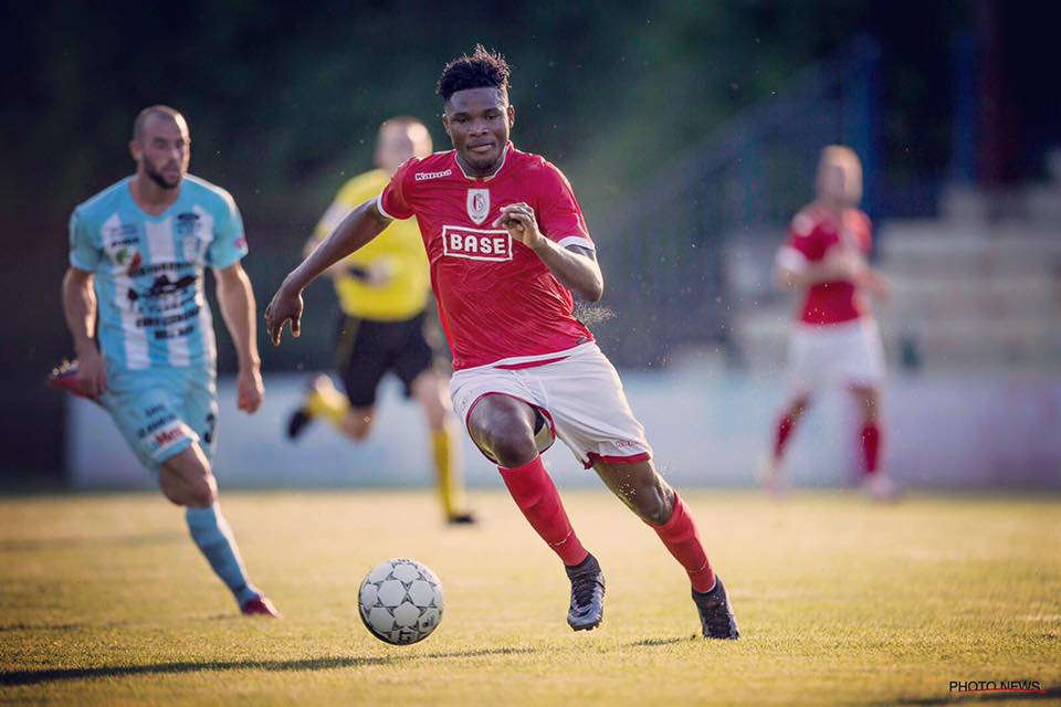Ghana youth international Benjamin Tetteh scores in Standard Liege pre-season friendly win