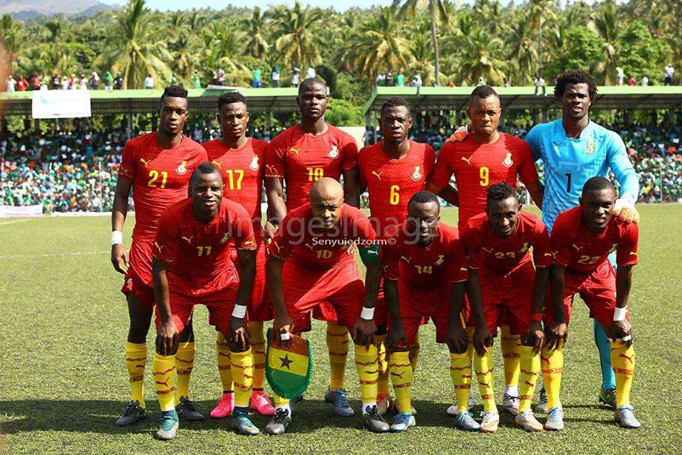 2018 World Cup: Ghana's complete group fixtures