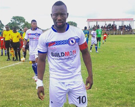 Berekum Chelsea net sponsorship deal with Buildmate