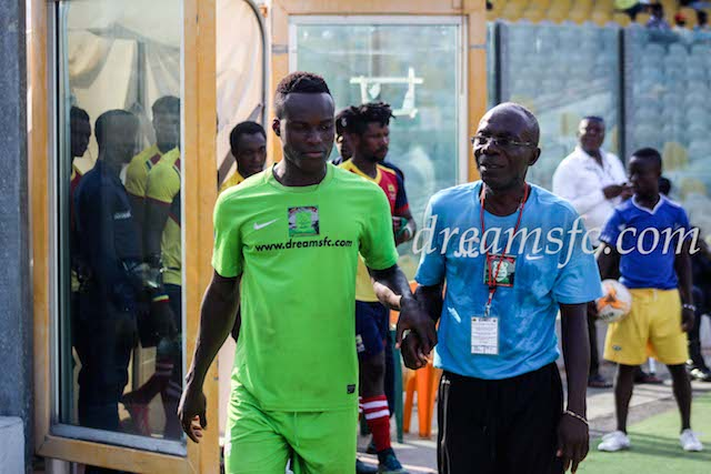 Lawson Bekui injury not serious- Dreams FC physio Commey-Bortsie