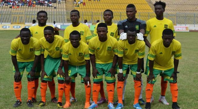 Ghana Premier League Match Report: Ebusua Dwarfs 1-0 Liberty Profs. - Former Kotoko boy Bonney wins day for Mysterious Boys