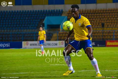 Striker Emmanuel Banahene scores consolation goal in Ismaily home loss against Ahly in Egypt