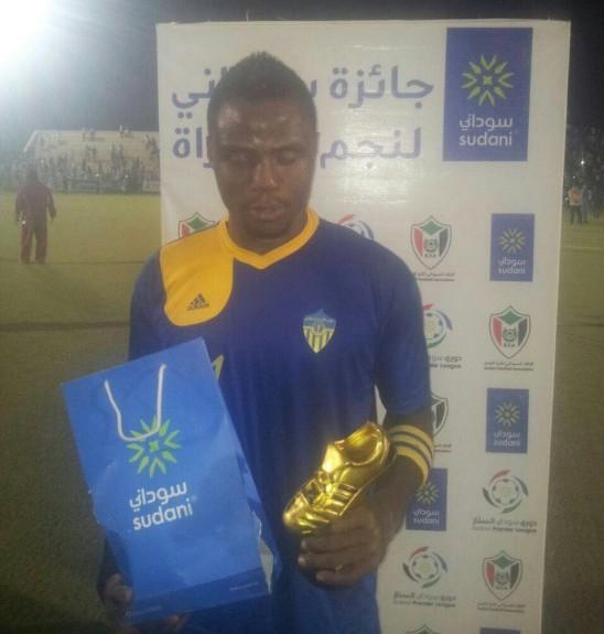 Former Hearts striker Ezekiel Tetteh a hit in Sudanese top-flight