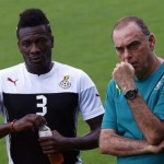 Avram Grant laments absence of skipper Asamoah Gyan, but backs Ayew to do a good job