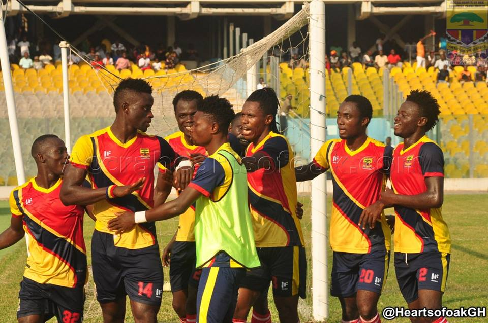 Match Report: Hearts of Oak 1-1 Liberty Professionals- Ben Arthur snatches point for Dansoman soccer lads