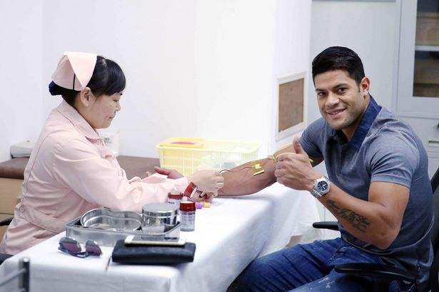 Brazilian striker Hulk completes medical; set to rival Asamoah Gyan at Shanghai SIPG