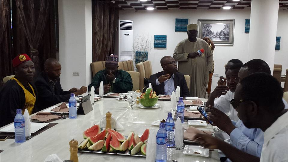 PHOTOS: GFA Boss Kwesi Nyantakyi hosts Muslims in football to special Ramadan 'Iftar' feast
