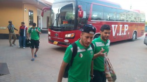 Algerian side MO Bejaia land in Takoradi ahead of crunch tie against Medeama