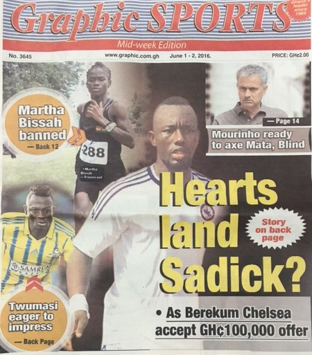 Hearts of Oak report