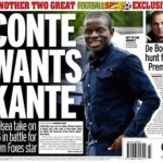 Today's newspaper gossip: Arsenal fear Vardy might stay at Leicester, Conte wants Kante