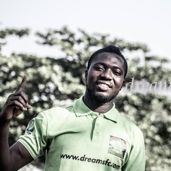 VIDEO: Watch goalkeeper Philemon McCarthy's sensational goal for Dreams FC