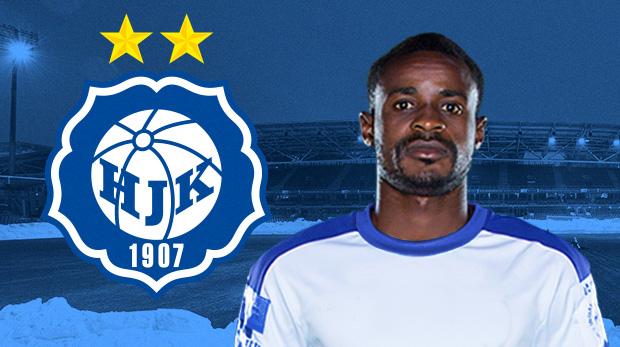 Europa League: Ghanaian forward Richard Gadze impresses in off-the-bench performance in HJK Helsink win