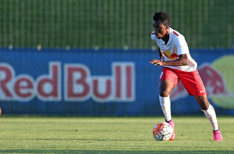 Ghana winger Samuel Tetteh satisfied with impressive debut for Red Bulls Salzburg