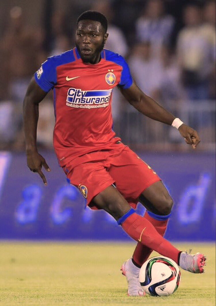 Muniru Sulley begins pre-season with Romanian side Steaua Bucuresti