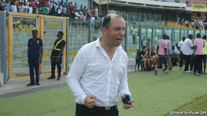 Work permit issues for new Hearts coach but Traguil impressed with fans support