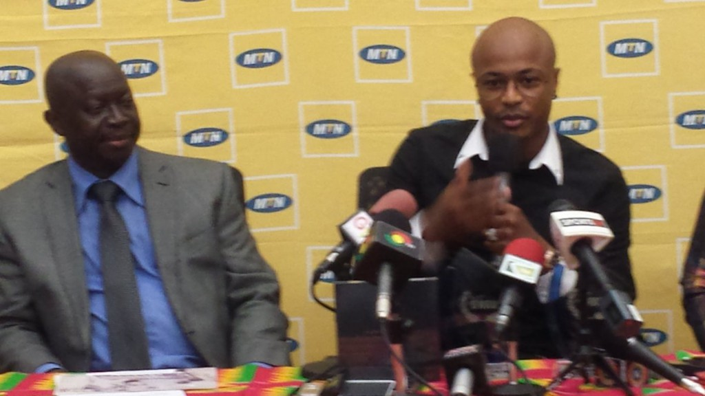 VIDEO: MTN staff sing Andre Ayew praises after SWAG award ceremony