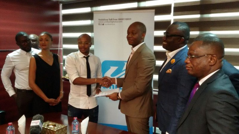 Andre Ayew seals uniBank brand ambassador deal for five years