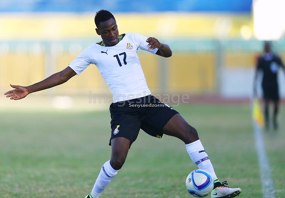 Baba Rahman suffers injury in Ghana's AFCON opener against Uganda