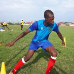 VIDEO: Striker Seidu Bancey in training for Asante Kotoko