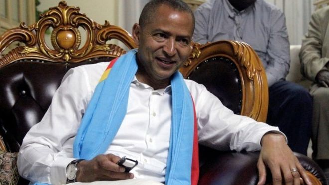 Club President of Ghanaian quartet in DR Congo Moise Katumbe jailed for 3-years
