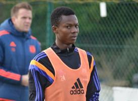 Anderlecht promote teenager Emmanuel Adjei Sowah to First team