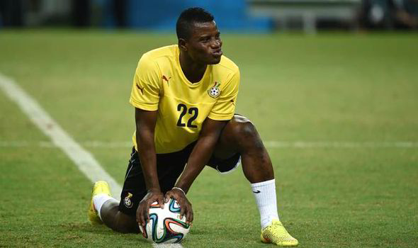 Mubarak Wakaso on the verge of joining Greek giants Panathinaikos