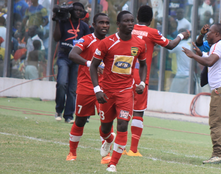 Kotoko handed boost for Hearts clash as striker Dauda Mohammed joins squad