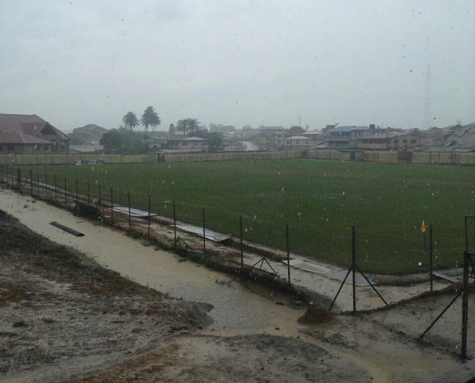Medeama, Techiman city Game rained off