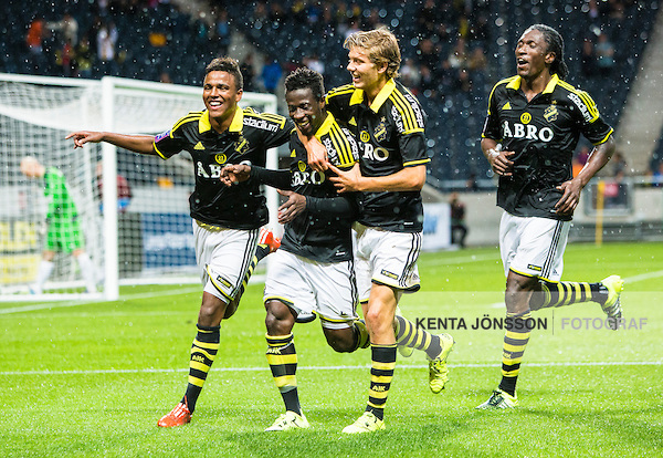 In-form Ghanaian defender Ebenezer Ofori scores in AIK win in Sweden