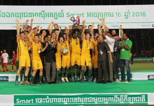 Australia claim AFF Under-16 Championship crown