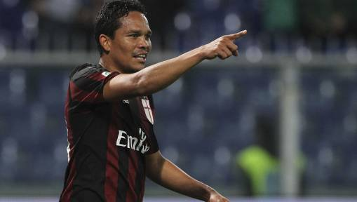 Napoli Target AC Milan Striker Carlos Bacca to Replace Gonzalo Higuain
