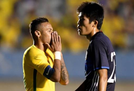 Japan beaten by Brazil in final Olympic warm-up