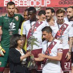 PHOTOS: Afriyie Acquah wins Eusebio Cup with Torino after penalties win over Benfica
