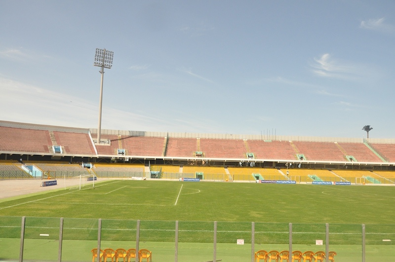 PHOTOS: Accra Sports Stadium gets ready for 2018 Women's AFCON