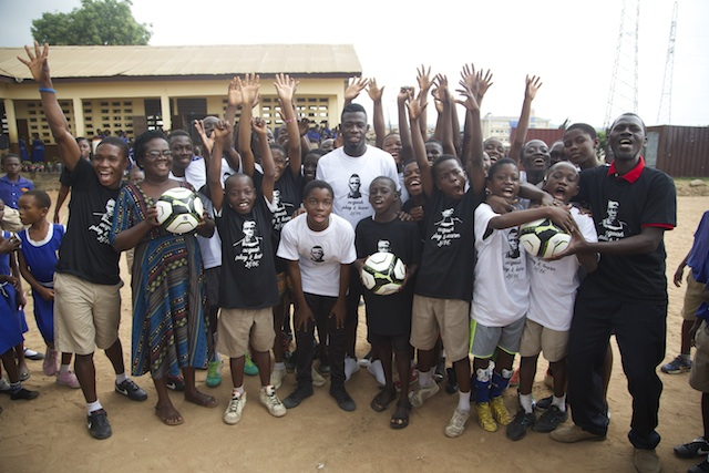 VIDEO: Watch Afriyie Acquah lecture pupils in 'Learn & Play campaign'
