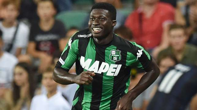 Crocked Sassuolo ace Alfred Duncan still training alone; recovery behind schedule
