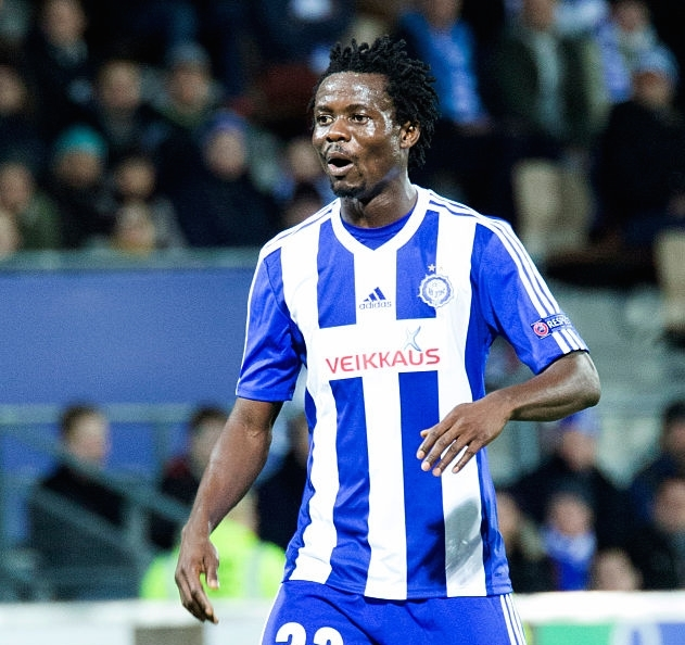 Evans Mensah hits brace; Anthony Annan on target as HJK hammer JJK in Finnish top-flight