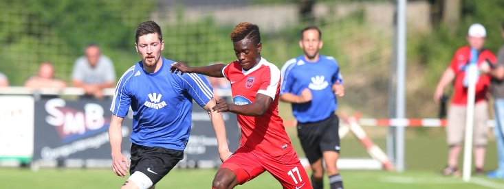 Ghana youth striker David Atanga scores on Heidenheim 1846 debut